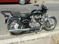 Royal Enfield Bullet, 500cc, 2007, Kickstart, 4 speed, right side gearchange, Pazon