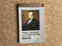 Tories Unionists & Conservatives 1815-1914 Second edition