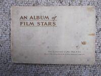 John Player cigarette cards - set of 50 Film Stars in album