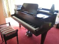 Well kept Mini Grand Piano. Selling due to retirement from piano teaching