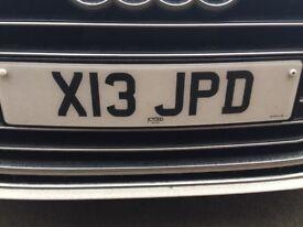 Private Registration X13 JPD