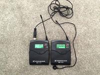 Sennheiser EW100 G2 BELTPACK SET AND SENNHEISER MICROPHONE