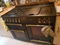 110cm rangemaster gas cooker