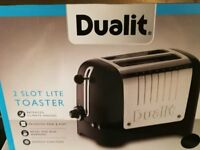 DUALIT DLT2PA (26205) - BRAND NEW, BOXED TOASTER