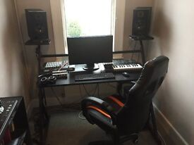 Music Production/Home Studio Desk and Chair