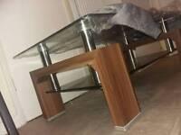 Glass table luxury