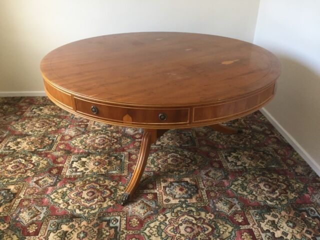 Super Polished Yew Wood Dining Table 5 Feet Diameter In Worksop Nottinghamshire Gumtree Download Free Architecture Designs Scobabritishbridgeorg