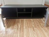 120cm Grey and Black Reno TV Unit