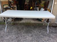 LARGE Multipurpose folding table great for garden parties