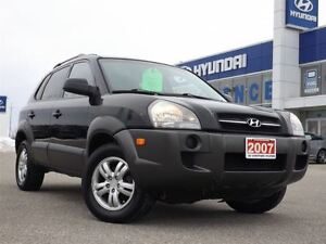 2007 Hyundai Tucson GL V6 | CLOTH | SAFETY CERTIFIED | ALLOYS | Stratford Kitchener Area image 2