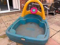 Little Tikes sandpit/ paddling pool