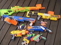 Nerf gun bundle (Can be sold separately)