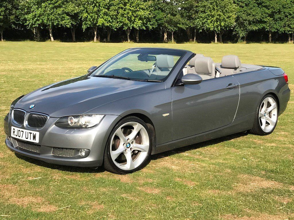 2007 bmw 335i se convertible cabriolet twin turbo auto 306 bhp 1 owner from new full bmw s. Black Bedroom Furniture Sets. Home Design Ideas