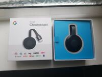 Brand new chrome cast bought a few days ago, box has been opened