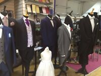 Wedding Stock 2000 Bridal Groom Items ( £6.75 per item) & All Hire business Equipment