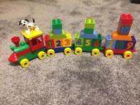 First builders blocks & Lego Duplo Train set