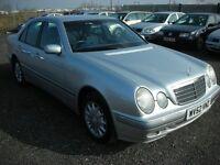 2002 MERCEDES E240 ELEGANCE PETROL E CLASS AUTO - FSH