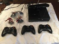 Xbox 360, Kinect plus 17 games