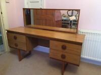 Bedroom Vanity Table and Mirror