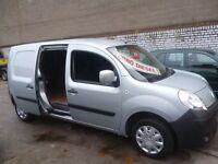 Renault KANGOO Maxi LL DCI,LWB panel van,twin side loading doors,1 owner,nice clean tidy van