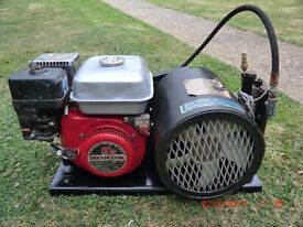 Diving Compressor Rix oil free breathing air compressor Honda GX140 5hp, Torch, paintball, airsoft,