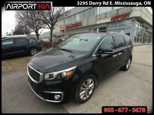 2016 Kia Sedona SXL/NAV/360 CAMERA/PANO ROOF/LEATHER/ALLOYS