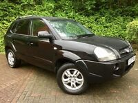 HYUNDAI TUCSON LIMITED EDITION 2.0 CRTD 4WD*LEATHERS*HEATED SEATS*S/HISTORY*TOP SPEC..Kia Sportage