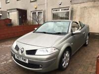 !!CONVERTIBLE DIESEL!!RENAULT MEGAN 1.5 PRIVILEGE COUPE LOW MILES,LONG MOT,TOP OF THE RANGE MODEL
