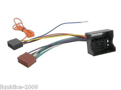 CT20PE02 PEUGEOT 207 2004 > QUADLOCK ( FAKRA ) ISO LEAD STEREO HEAD UNIT ADAPTOR
