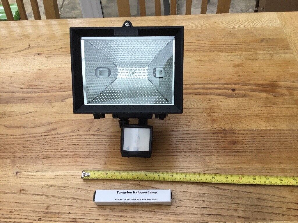 Floodlight with motion sensor - New