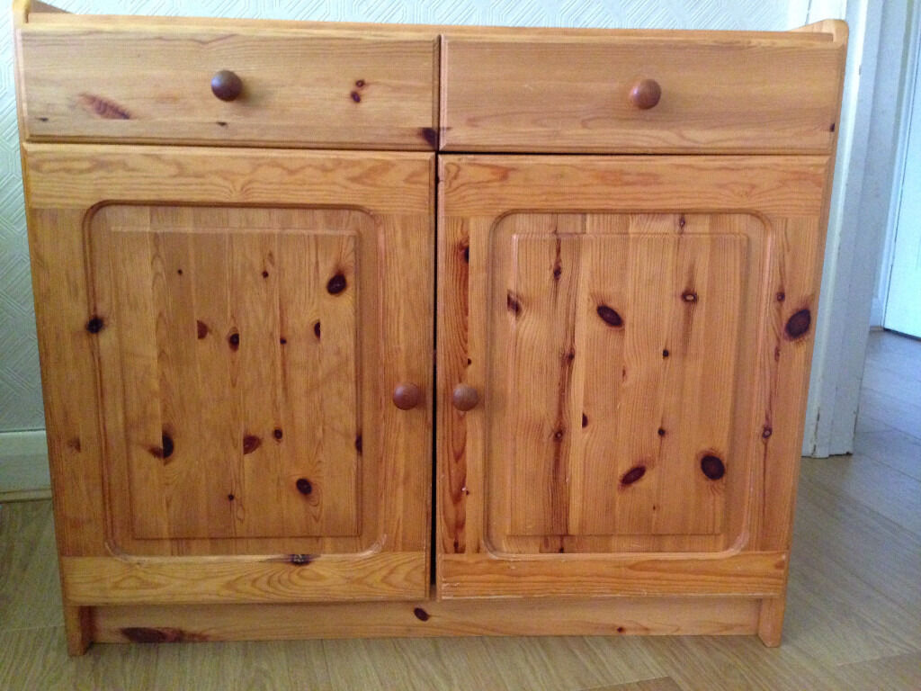 Childrens furniture two door pine cupboard w/ twin drawers, double shelvesin Sutton, LondonGumtree - Here we have a children's light weight two door pine cupboard with twin drawers and double shelves. This was purchased from Regency in London at a cost of £215.00, it has been in my sons room to house clothing but ended up being the home to...
