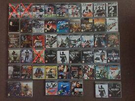 PS3 games GTA, RDR, LA Noire, COD, BF, MOH, Killzone, Assasin, UFC, FIFA, NBA, GT, NFS, Rayman, Move