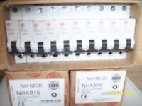 WYLEX BREAKERS 16 A 32A BRAND NEW IN BOXES