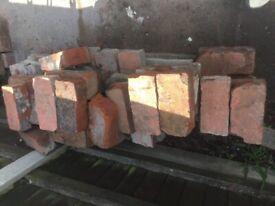 Bricks/rubble free to collect