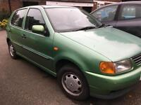 Volkswagen Polo 2000 made £700 or ONO