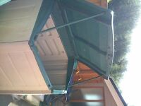 Large PVC outdoor storage container