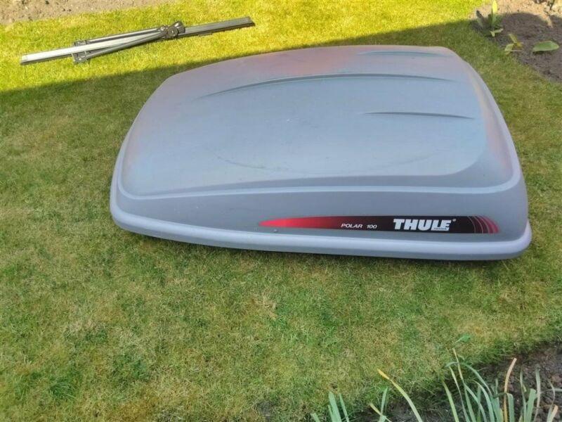 REDUCED! Thule Polar Roof Box + Bars + Bike rack + Mounting Kit (value £400+) for sale  Crosby, Merseyside