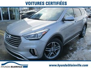 2017 Hyundai Santa Fe XL Limited 7 PASSAGERS, NAVIGATION, CUIR,