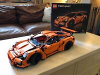 Lego technic Porsche gt3 in new condition,built and then displayed with all boxes. Xmas present?