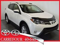 2014 Toyota RAV4 4WD Limited Cuir+Toit Ouvrant+Navigation