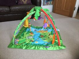 Fisher Price Jungle Play Gym / Play Mat