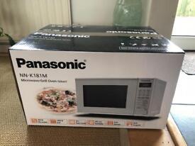 Panasonic microwave 800watt + grill NN-K181M