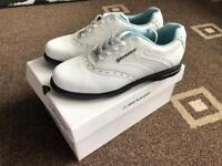 New Dunlop Golf shoes White/Blue for Women size 5