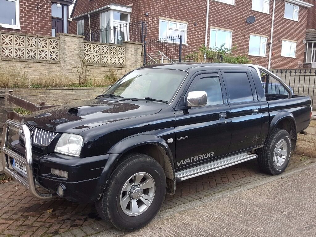 2005 mitsubishi warrior l200 px swap 4x4 in huddersfield west yorkshire gumtree. Black Bedroom Furniture Sets. Home Design Ideas