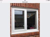 Upvc double glazed back door and window