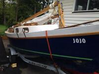 14' sailboat with new trailer