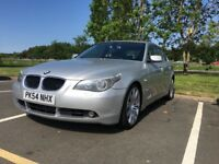 54 plate 525d automatic bmw full black leather interior