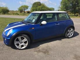 Mini Cooper 2005 plate, 74085 miles, 1 owner, 18inch alloys, full service history