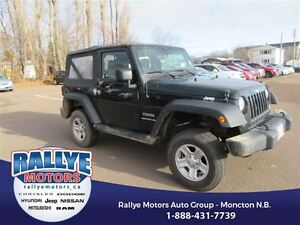 2016 Jeep Wrangler Sport! Almost New! Low KMS! 4x4! Alloy!