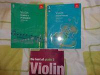 ABRSM VIOLIN GRADE 3 BOOKS